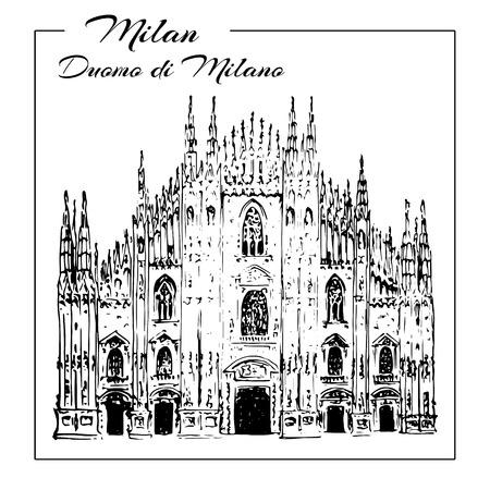 Duomo cathedral in Milan