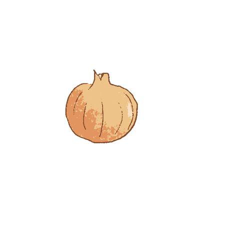 Fresh raw Onion vegetable isolated icon. Spring Rareripes. hastings, farm market, Vector illustration.