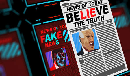 Fake news, believe the truth.