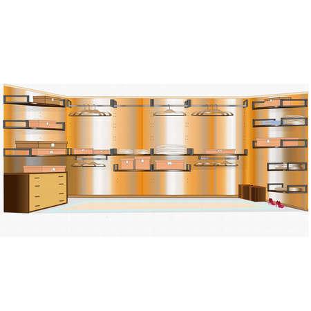 Wardrobe  Stock Vector - 12192216