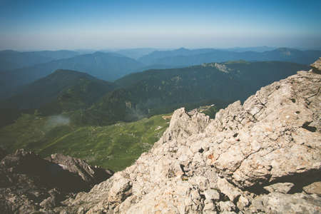 fisht: Rocky Mountains Landscape blue sky Summer Travel scenic aerial view