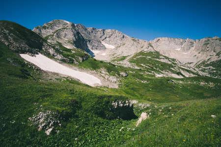 fisht: Rocky Mountains Landscape blue sky Summer Travel scenic view