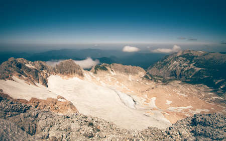 fisht: Summit of Fisht Mountain Landscape blue sky Summer Travel scenic aerial view