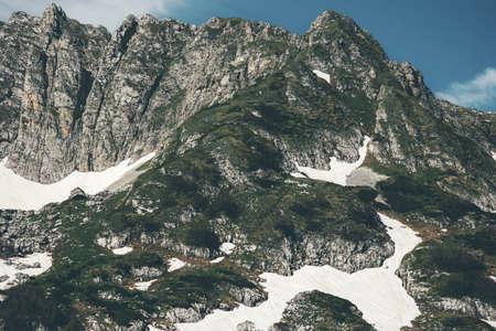 Montagnes Rocheuses Paysage d'été Voyage vue panoramique
