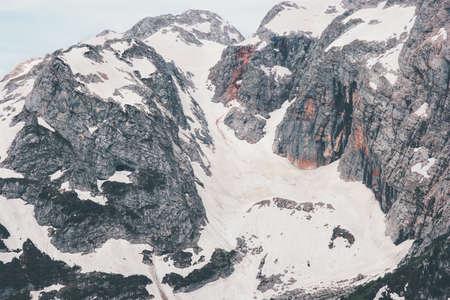 Montagnes Rocheuses glacier Paysage Voyage paysage serein Banque d'images