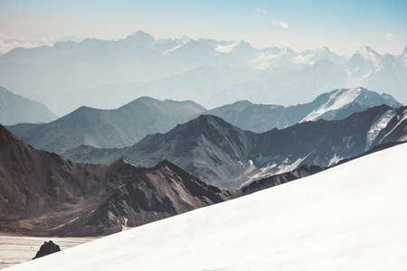 gamme Beautiful Mountains Landscape Voyage Vue aérienne paysage serein nature sauvage