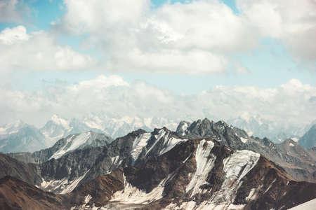 Montagnes Rocheuses Paysage Voyage Vue aérienne paysage serein nature sauvage calme scène idyllique Banque d'images