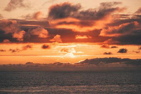 Atlantic ocean sunset sky Landscape Travel serene scenic view beautiful natural colors