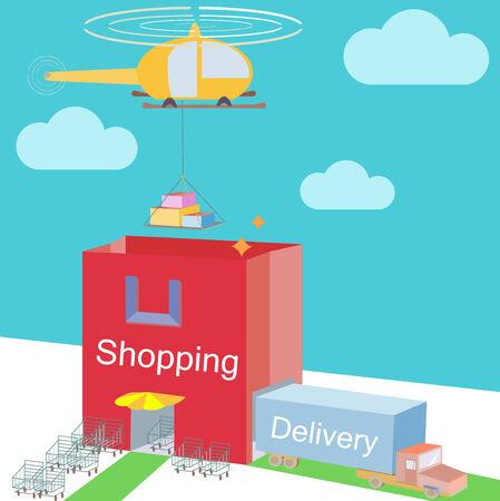 storehouse: Shop almac�n como bolso de compras Comercio y varios transportes mar�timos log�stica