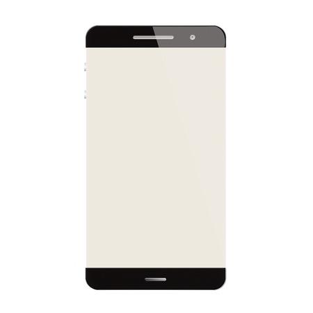 inovation: Smartphohe new age technology modern blank isolated  on white backgroun