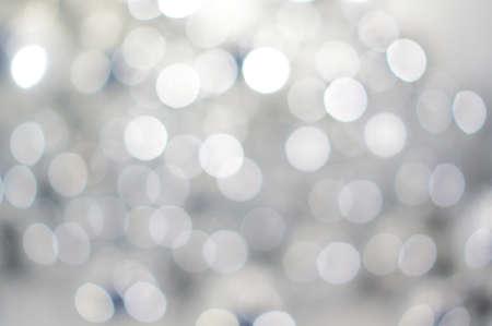 arte abstracto: Resumen de fondo desenfocado de luces blancas Foto de archivo