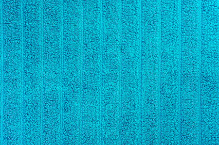 Blue beach towel texture and background Stock Photo