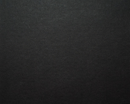 Black cardboard paper background and texture