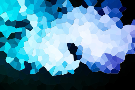 Colorful abstract geometric background with  solid figures. Abstract modern background with  blue and  white polygons.