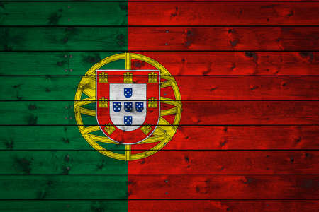 The national flag of Portugal