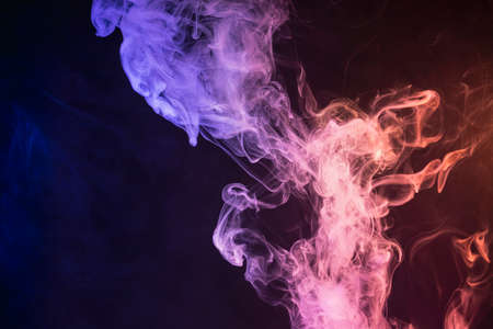 Abstract pink and blue smoke background, seamless texture