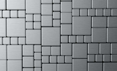 Steel metal plate background or texture photo