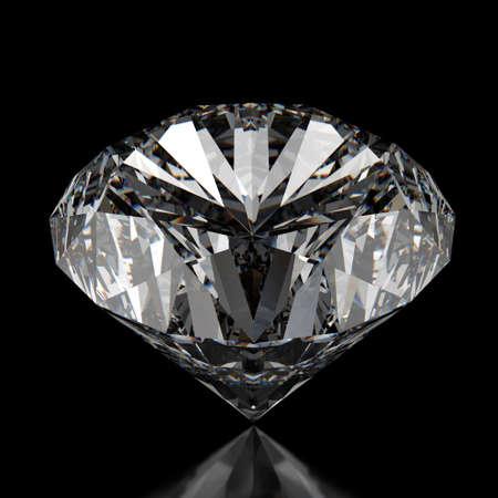 bijoux diamant: diamants sur fond noir surface