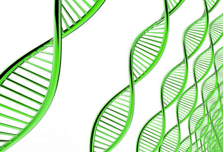 Image of DNA strand against colour background Stock Photo - 16706393