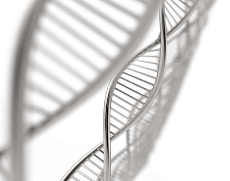 Image of DNA strand against colour background Stock Photo - 16706449