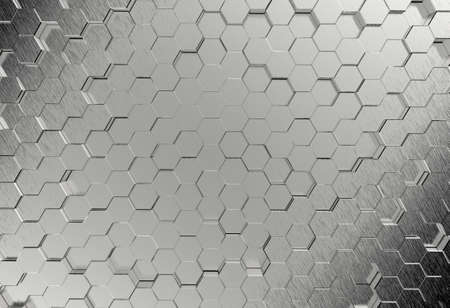 brushed metal texture: Steel metal plate background or texture