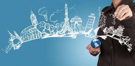 empresária chama sonho de viagem ao redor do mundo