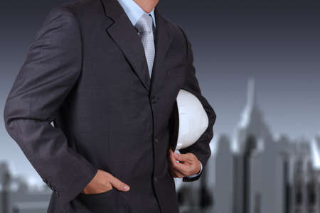 smart engineer and success in his business Stock Photo - 17156755