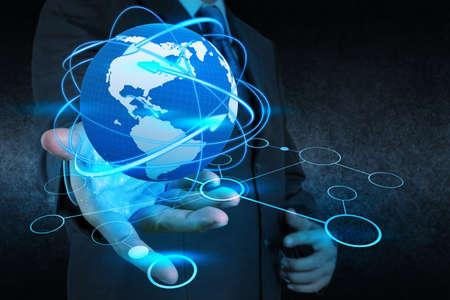 m�o empres�rio det�m rede social como conceito