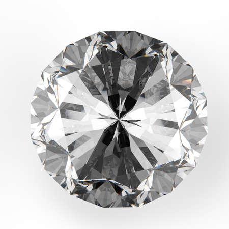 diamonds isolated: Diamonds isolated on white 3d model