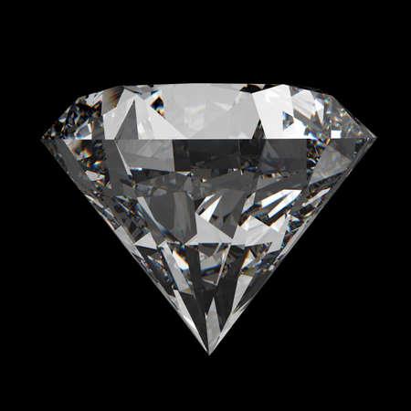desirable: diamonds on black surface background