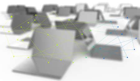 computer network as concept design Stock Photo - 18237275
