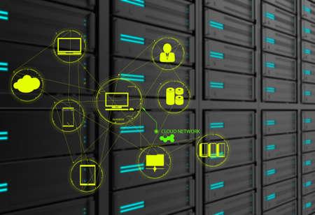 infraestructura: un esquema de Cloud Computing como concepto