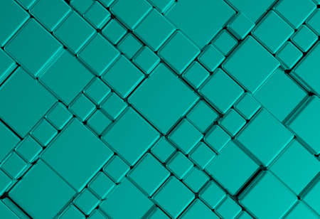 perforate: Steel blue cube mesh metal plate background or texture