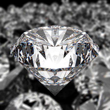 diamanten op zwarte ondergrond achtergrond