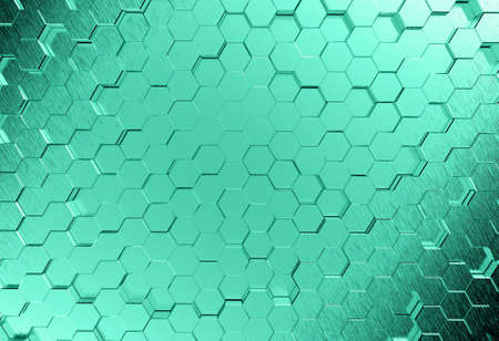Abstract metal 3d molecules medical background photo