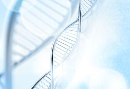 A dna in der medizinischen Farbe Hintergrund Standard-Bild - 20643912