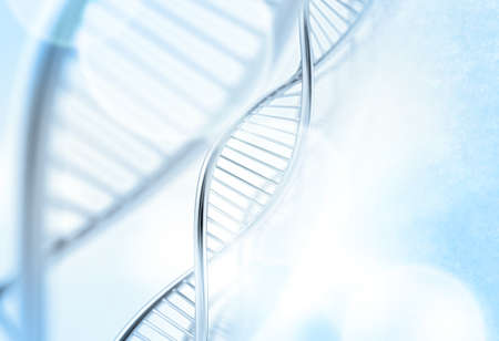 a dna in medical colour background 版權商用圖片 - 20643912