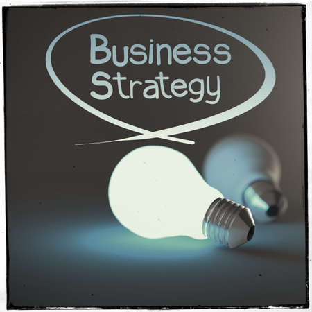 business strategy as concept photo