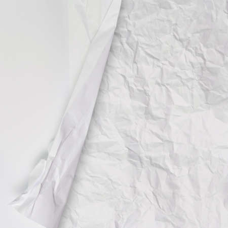 set of white crumpled paper background texture in composition Stock Photo - 22007950