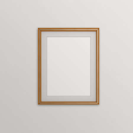 blank modern 3d frame on texture background as concept Stock Photo - 22393342