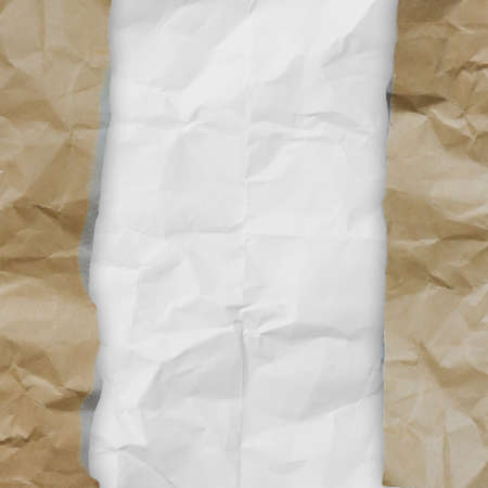 recycle crumpled paper background texture in composition Stock Photo - 22852437