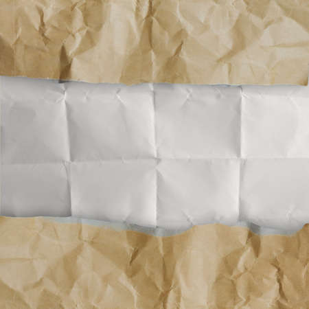 recycle crumpled paper background texture in composition Stock Photo - 22852442