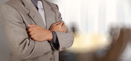 stockholder: businessman success with his board room background