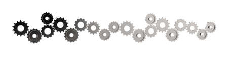 concep: 3d cog gear to success as concep