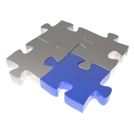 integrate: 3d puzzles partnership as concept