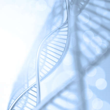 blue dna: Abstract dna medical background