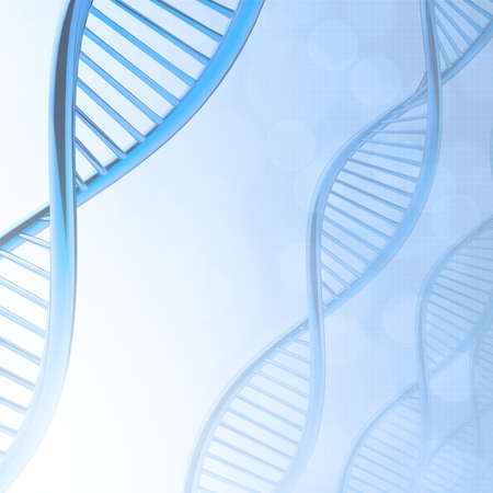 Abstract dna medical background