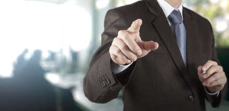 De negocios que trabajan con su oficina de antecedentes como concepto Foto de archivo - 35589472