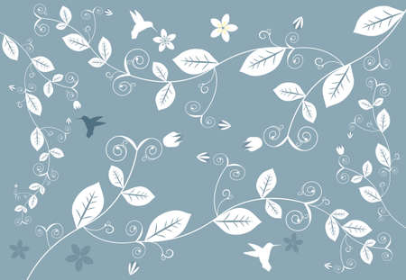Abstract Floral Kontekst