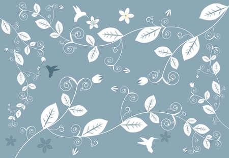 Abstrakte Floral Hintergrund